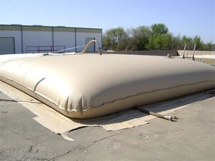 Inflatable Soft Water Bladder Tank Eco Friendly PVC Materials ISO9001 Certificated