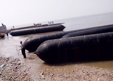 Stable Working Boat Lift Air Bags , Inflatable Air Bags For Shipping High Binding Strength