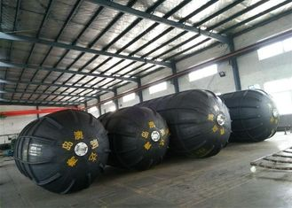 Ribbed Type Customized Size Of Inflatable Floating Marine Rubber Fender