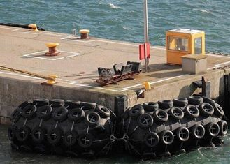 Protects Military Ports And Wharfs Pneumatic Yokohama Marine Rubber Fender